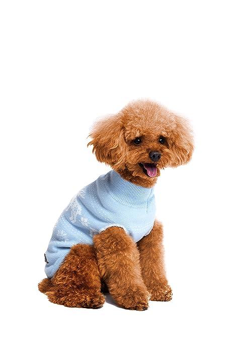 golden paw ugly christmas dog sweater holiday festive dog apparel large blue - Ugly Christmas Dog Sweater