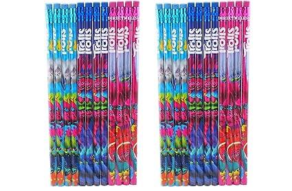 Lápices de madera de 24 piezas para regalo de cumpleaños ...
