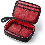 サンワダイレクト トラベルポーチ 充電器ポーチ PC周辺小物整理 収納ポーチ 旅行 ブラック 200-BAGIN005BK
