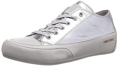 Candice Cooper Women\'s rock.laminato Low-Top Trainer Silver Size ...
