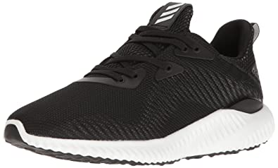 adidas Performance Women's Alphabounce 1W Running Shoe, BlackWhiteUtility Black, 10