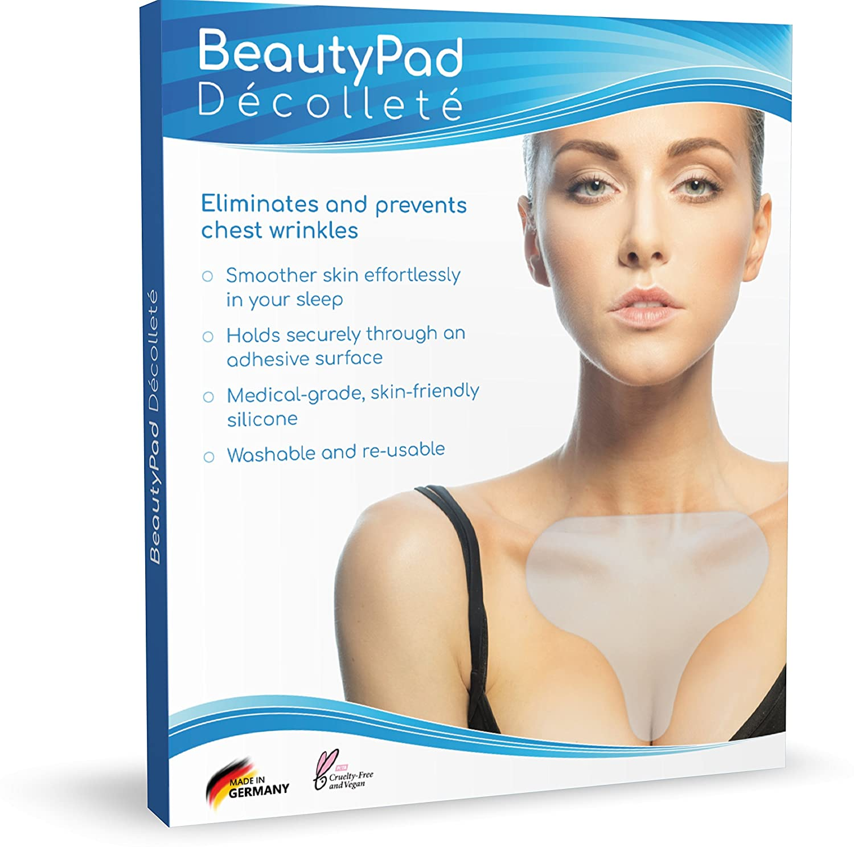 BeautyPad Décolleté, riduce semplicemente le rughe, tenuta sicura grazie alla superficie autoadesiva silic-on