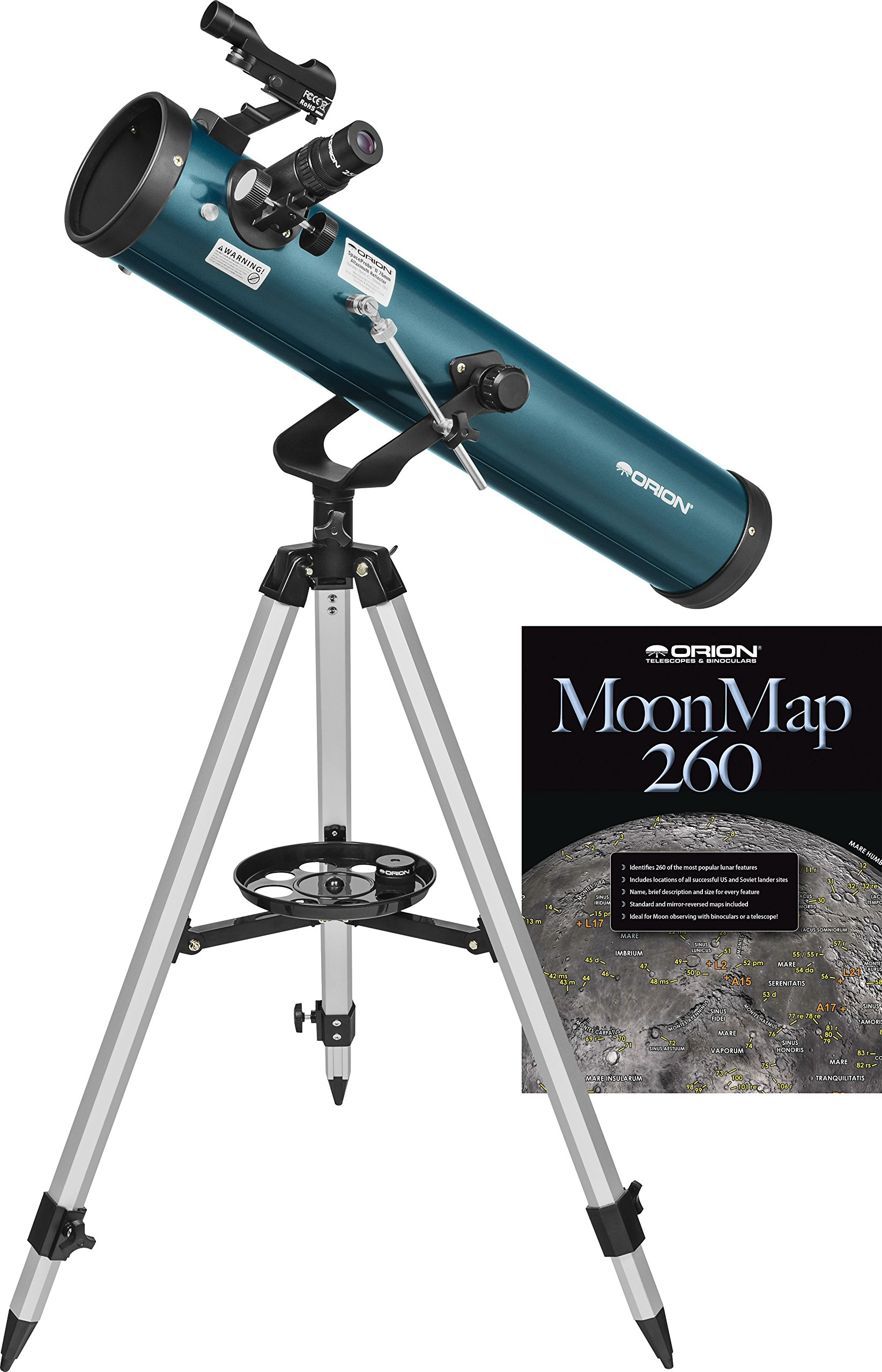 Orion SpaceProbe II 76mm Altazimuth Reflector Telescope by Orion