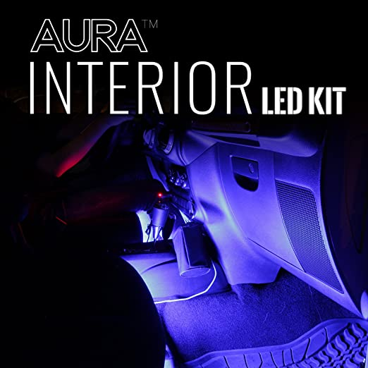 Amazon.com OPT7 Aura Smart-Color LED Strip Interior Lighting Kit (4 Items) Automotive  sc 1 st  Amazon.com & Amazon.com: OPT7 Aura Smart-Color LED Strip Interior Lighting Kit ... azcodes.com