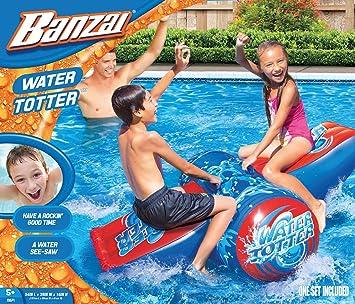 Banzai - Columpio acuático Aqua Rocker Juego de Sube y Baja de la ...