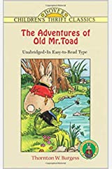 The Adventures of Old Mr. Toad illustrated Kindle Edition