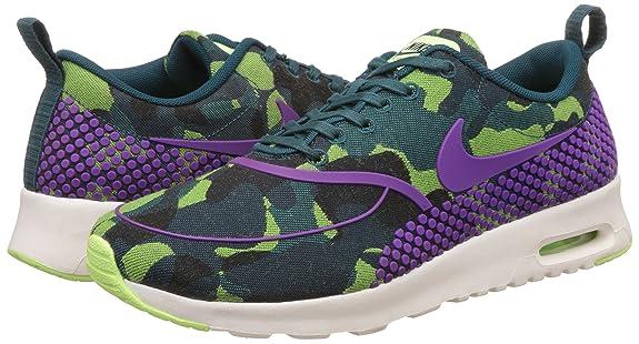 Nike WoHombres Thea W Nike Air Max Thea WoHombres Jcrd Pmr Camo Verde Púrpura Y 760b5b