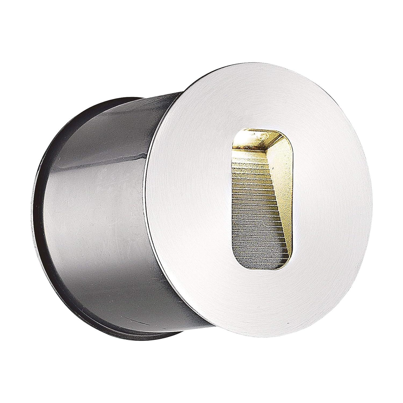 Applique da esterni 'Telke' (Moderno) colore Grigio, in Alluminio (1 luce, A+, lampadina inclusa) di Lampenwelt   applique da incasso per esterni, applique per facciata, casa, terrazzo e balcone