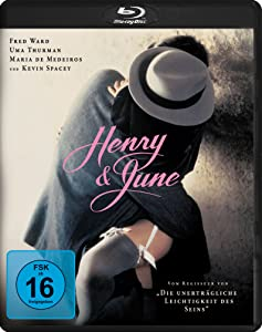 Henry & June (1990) [ NON-USA FORMAT, Blu-Ray, Reg.B Import - Germany ]