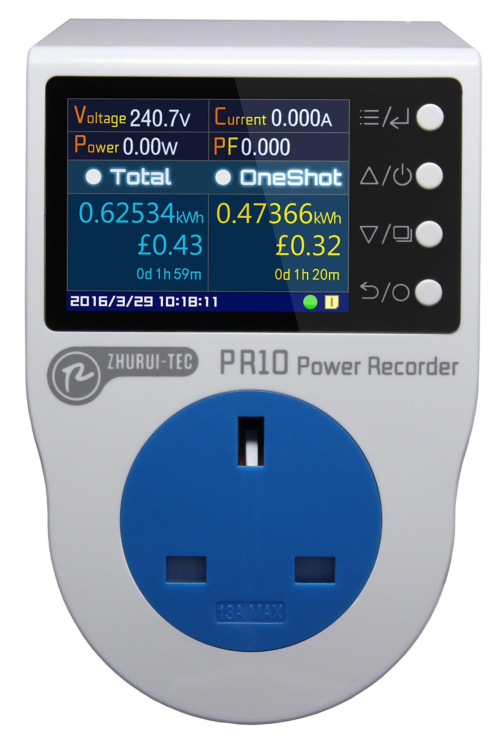 PR10-F BS13A power meter socket watt meter plug energy meter