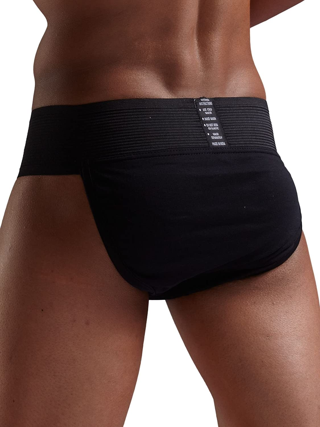 Omtex Tokyo Athletic Cotton Gym Supporter Back Covered with Cup Pocket for Mens