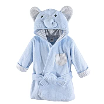 1316f13a1f Amazon.com  Hudson Baby Unisex Baby Animal Face Hooded Bathrobe ...