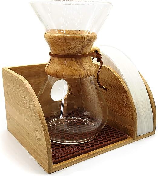 Amazon.com: Hexnub Soporte organizador de café para Chemex ...