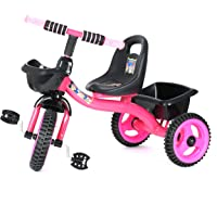Digionics Kids Bicycle for 2 to 5 Year Fully Adjustable with Back Support for Boys and Girls