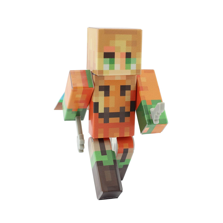EnderToys Pumpkin Girl Action Figure Toy 4 Inch Custom Series Figurines
