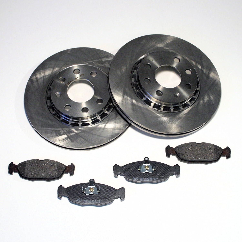 Bremsbeläge vorne Vorderachse OPEL COMBO 1.7 D SET Bremsscheiben