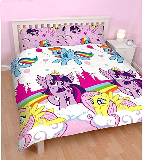 Copripiumino My Little Pony.Girls My Little Pony Equestria Reversibile Copripiumino