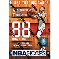 2018 2019 Hoops NBA Basketball Box with One Guaranteed Autograph or Memorabilia Card Per Unopened Blaster Box of Packs Possible Rookies and Stars