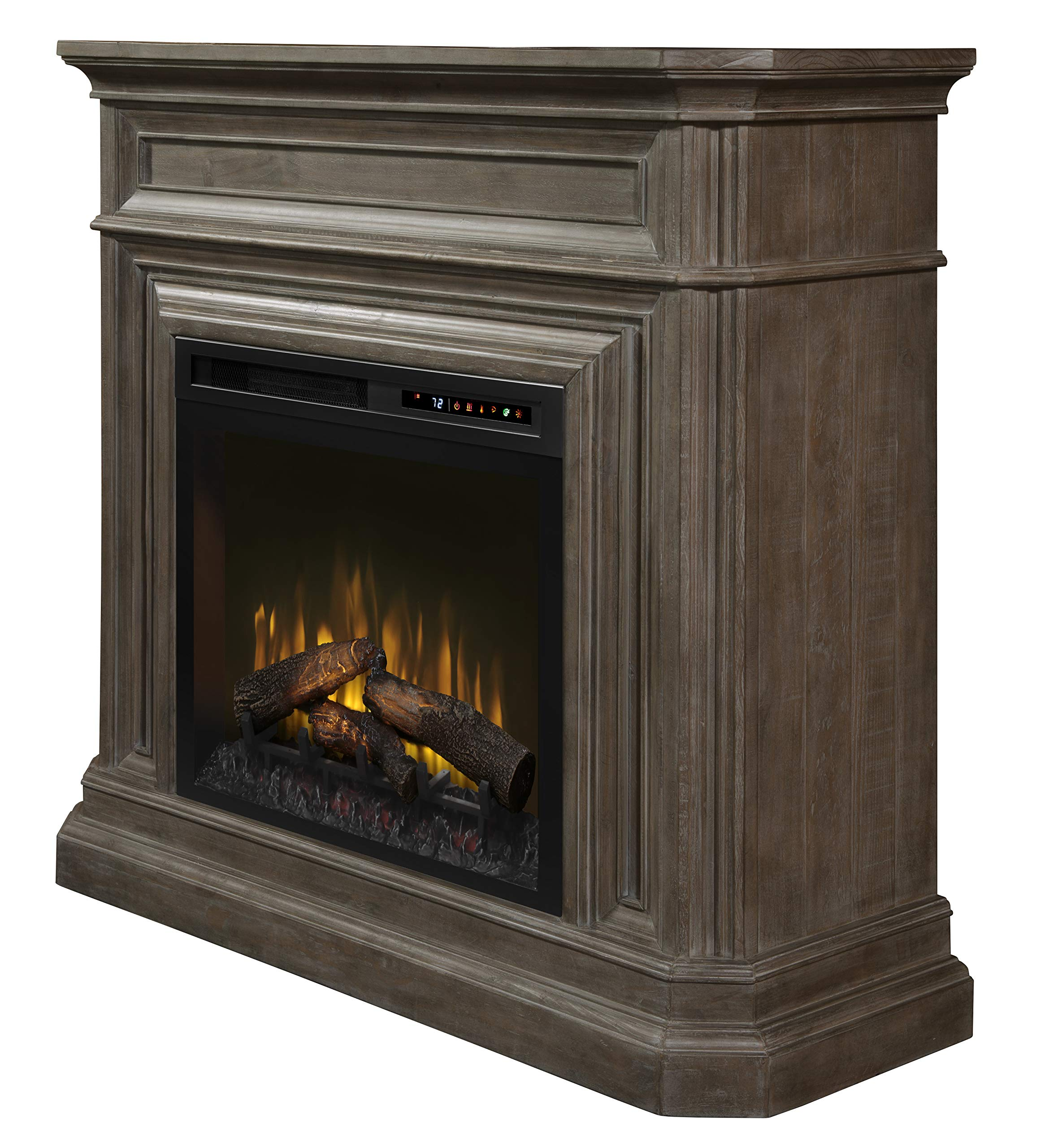 DIMPLEX Ophelia Mantel Electric Fireplace with Logs by DIMPLEX