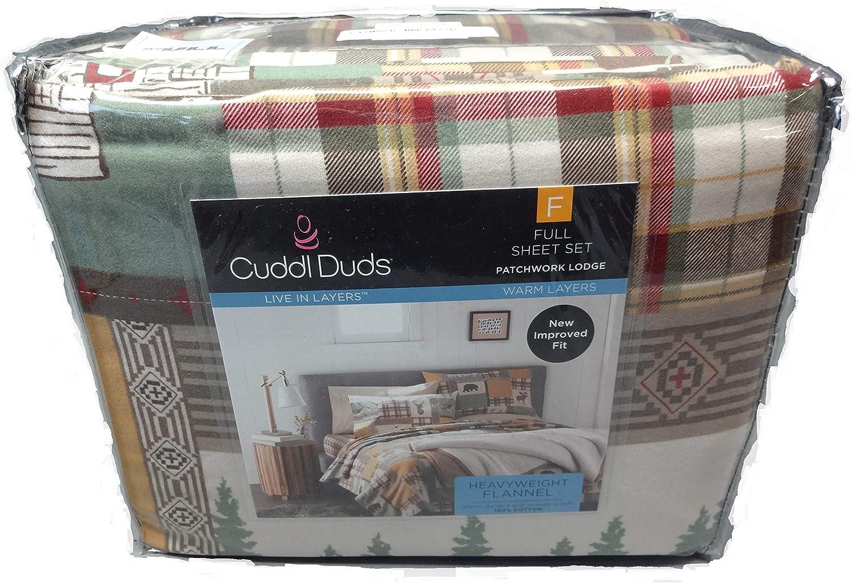 Cuddle Duds Full Size Sheet Set