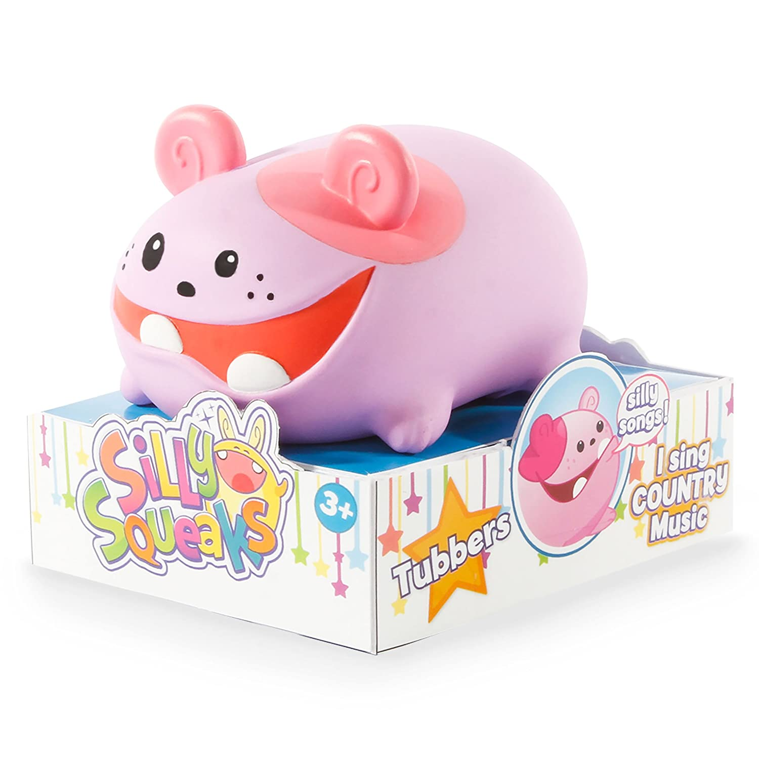 Silly Squeaks 80912 Tubbers Musical Pet Toy Blip