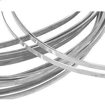 Amazon.de: Sterling Silber Draht rechteck 925 Silber Draht 3, 2 mm x ...