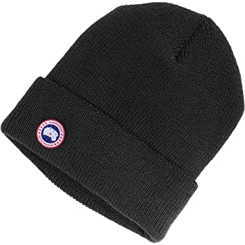 3a597910496 Canada Goose Merino Watch Hat Black One Size  Amazon.ca  Sports ...