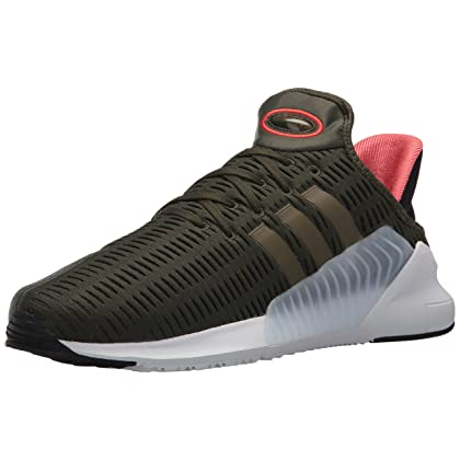 the latest a2098 c071f adidas Mens Climacool 0217 Originals Night CargoTrace OliveWhite  Running Shoe 8 Men US