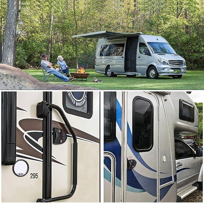 MKING Camper Trailer RV Keyless Entry Door Caravan Lock Latch ...