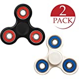 Spinosa Fidget Hand Tri-Spinners [Multi Pack - Assorted Colors] - Best Spinners for Anxiety, Stress, Boredom Relief - Perfect for Kids, Fidgeters, Adults