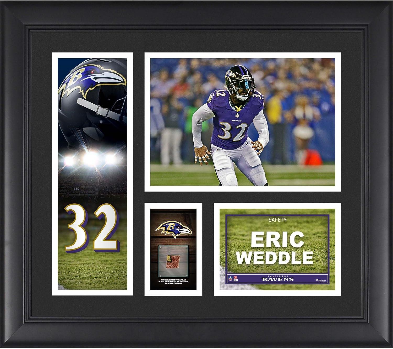 Eric Weddle Baltimore Ravens Framed 15