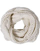 Loritta Womens Winter Warm Ribbed Thick Knit Infinity Scarf Circle Loop Cowl Scarf
