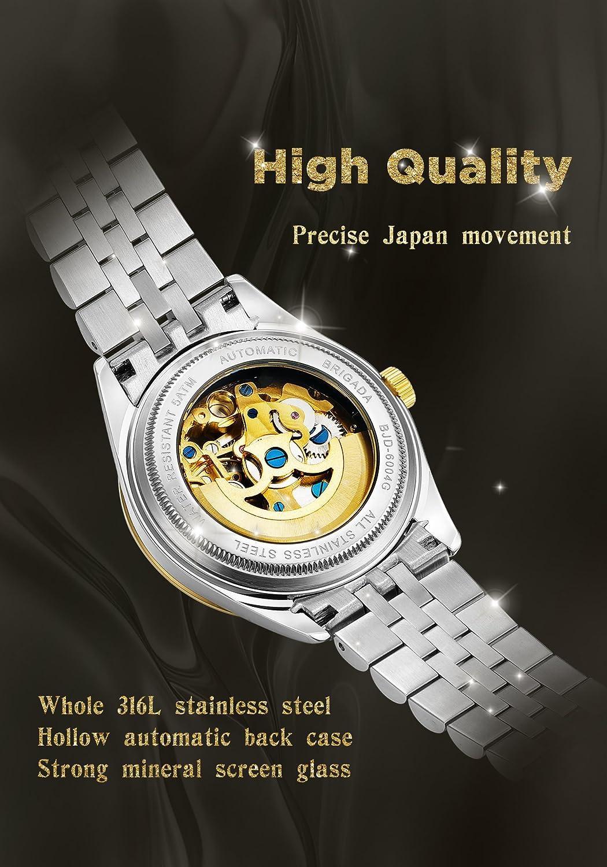 af9b380b7e15 Relojes suizos de lujo dorados para hombres
