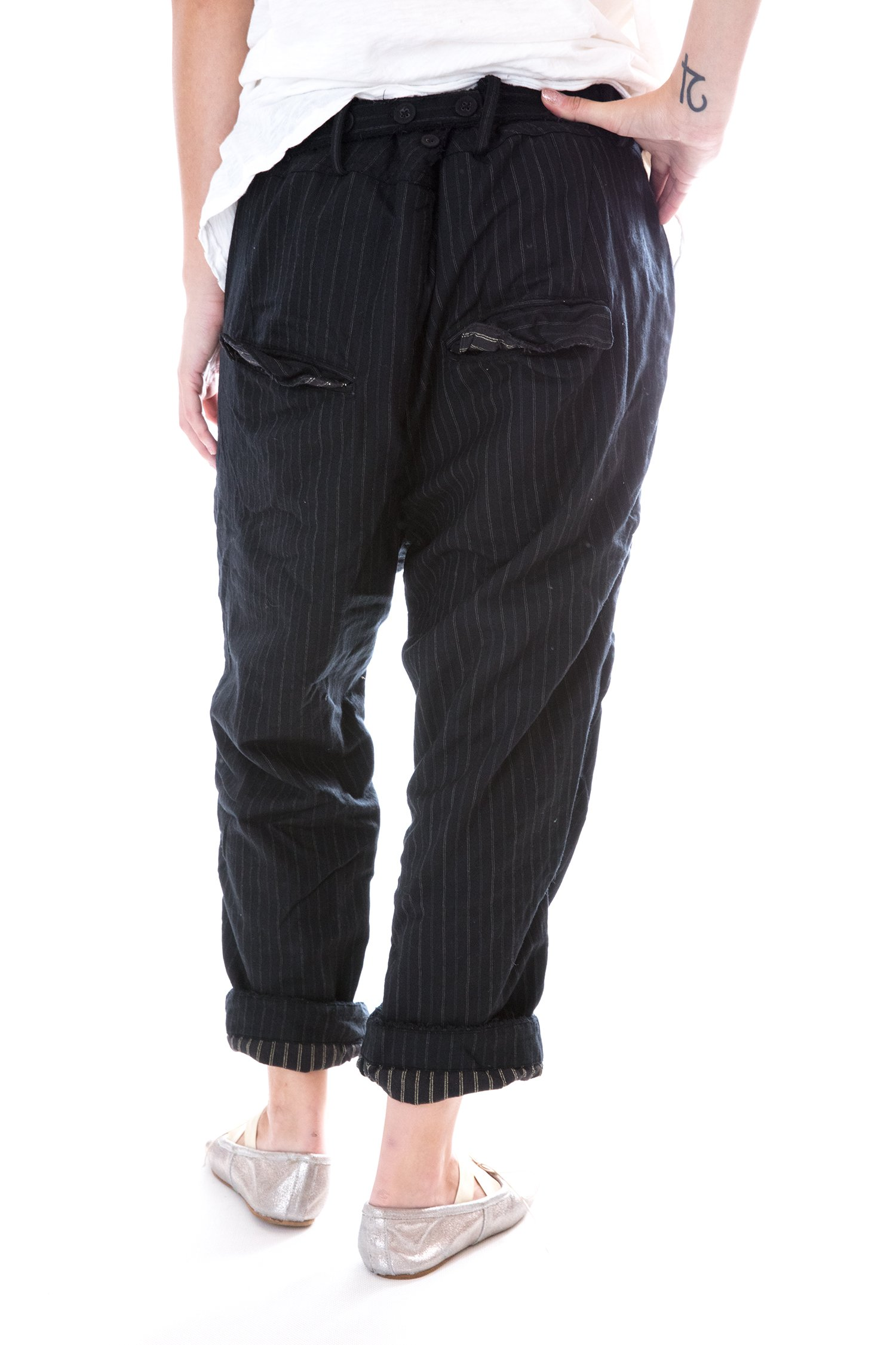 Fine Wool Violet Pants with Cotton Lining by Magnolia Pearl (Image #2)
