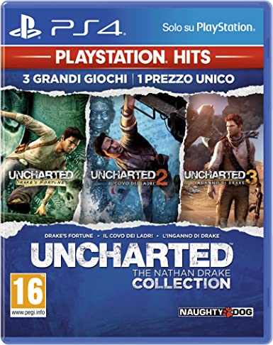 Sony Uncharted: The Nathan Drake Collection, PS Hits, PS4 vídeo ...