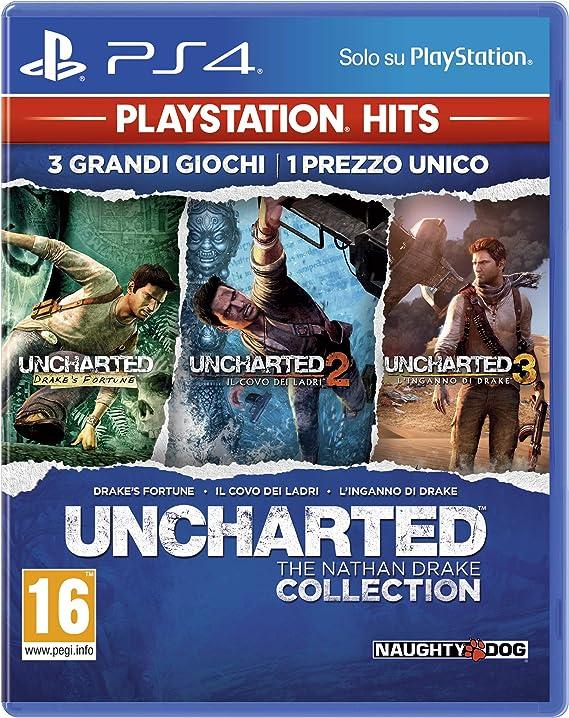 Sony Uncharted: The Nathan Drake Collection, PS Hits, PS4 vídeo - Juego (PS Hits, PS4, PlayStation 4, Acción / Aventura, T (Teen)): Amazon.es: Videojuegos