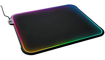 steelseries qck prism tapis de souris de jeu clairage ractif rgb surface - Tapis De Souris
