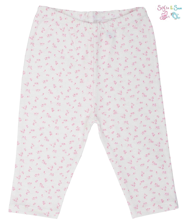 Sofie /& Sam Bio-Baumwolle 2er Pack Combo 6-9 Monate Baby Schlafanzug Hosen Pajama