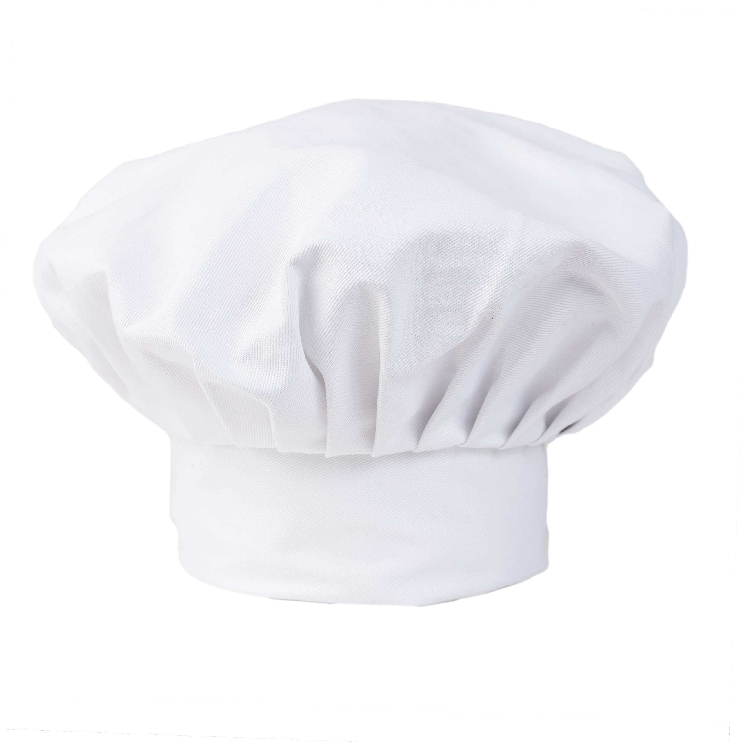 KNG White Chef Hat, 13 inch by KNG