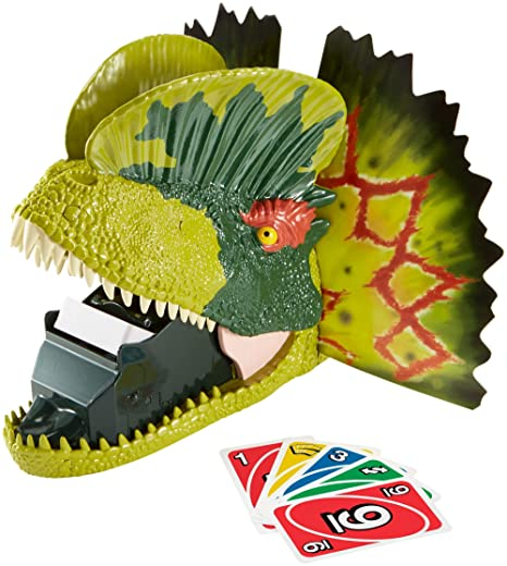 Amazon.com: Mattel UNO Extreme Jurassic World: Toys & Games
