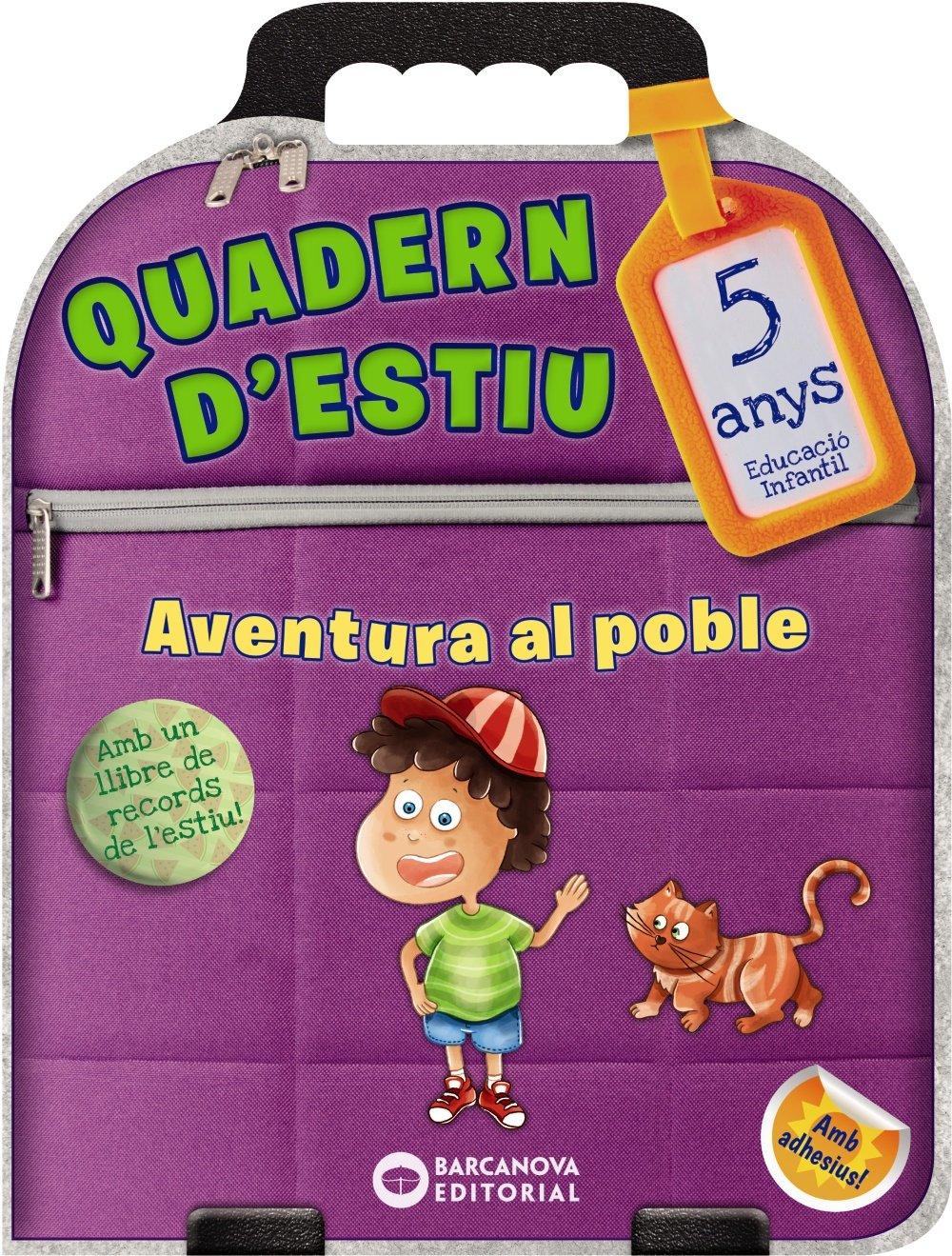 Aventura al poble 5 anys. Estiueja amb Barcanova: Amazon.es: Ester Riera,  Cèlia Bornas: Libros