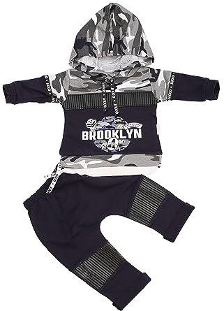 Conjunto de 2 Pantalones de chándal térmicos de Fitness para bebés ...