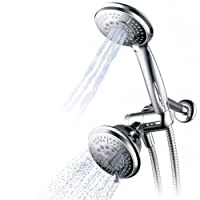 Deals on Hydroluxe 1433 Handheld Showerhead & Rain Shower Combo