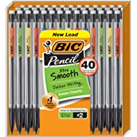 40-Count BIC Xtra-Life Mechanical Pencil, Medium Point (0.7 mm)