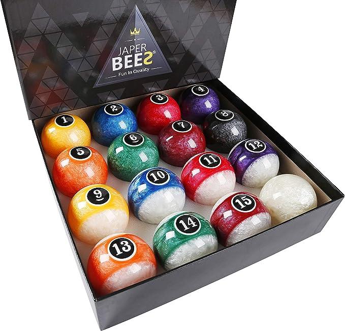 JAPER BEES Pool Balls Set - Best Pick