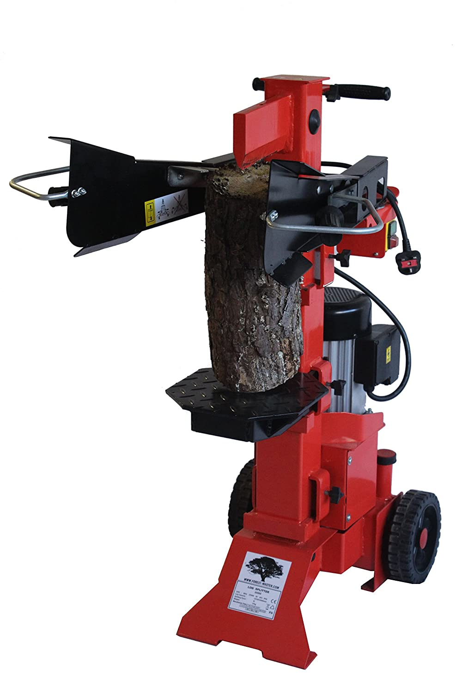 Forest Master Vertical Electric logsplitter holzspalter, rot, FM6VE