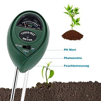 3 In Boden Wasser Feuchtigkeit 1 Ph Tester Boden Detektor Wasser Feuchtigkeit Licht Test Meter Sensor Für Garten Pflanze Blume Werkzeuge