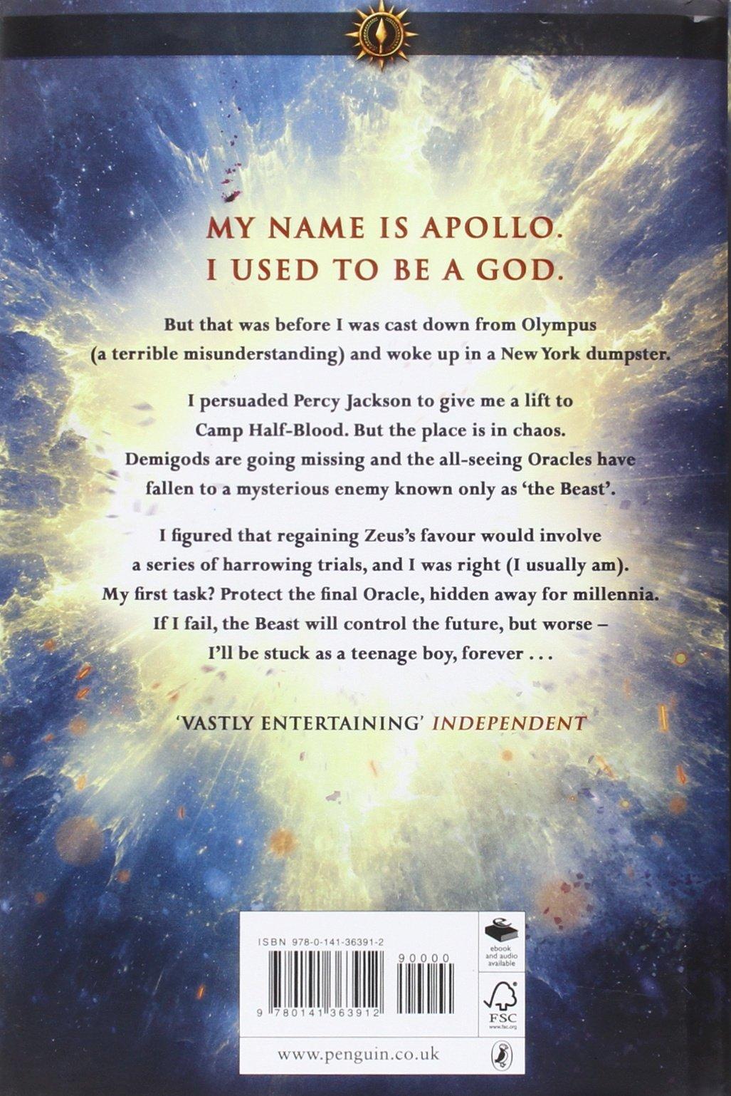 Hidden Oracle (The Trials of Apollo): Amazon.es: Rick Riordan ...