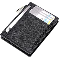 IVESIGN Travel Passport Wallet Trifold Envelope Document Organizer Holder With Free Pen (W-Black)