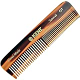 Kent A OT Small Double Tooth Hair Pocket Comb, Fine / Wide Tooth Comb For Hair, Beard and Mustache, Coarse / Fine Hair…